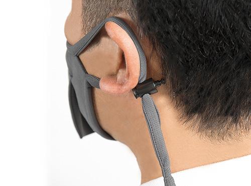 BEAK SHIELD-耳で固定する
